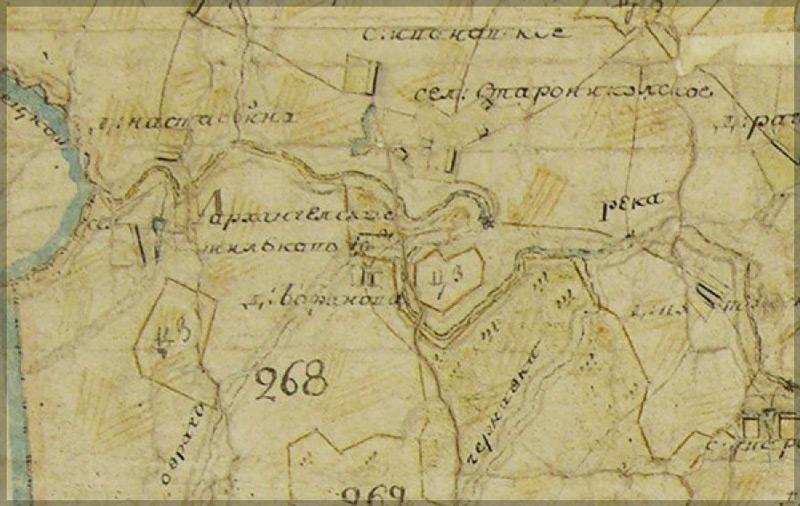 Карта 1797 г.