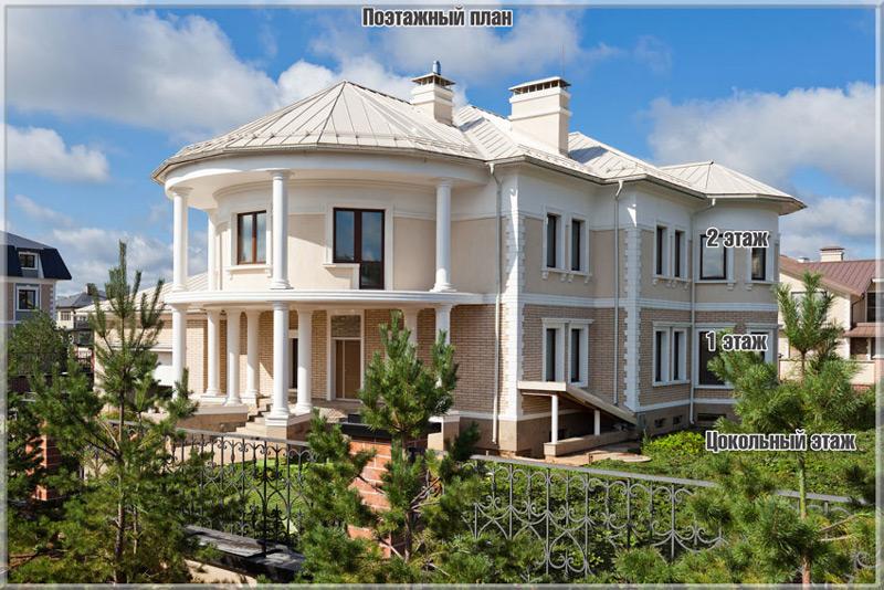 Азарово, дом 16 поэтажный план