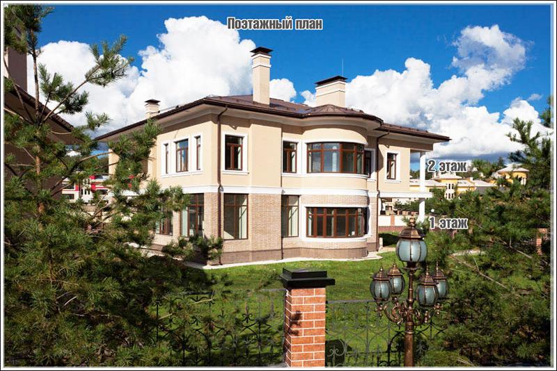 Азарово, дом 25 поэтажный план