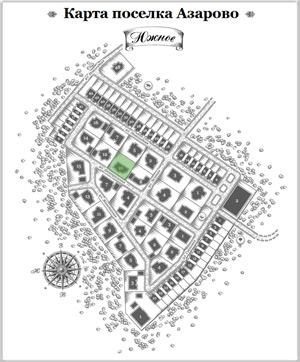 Дом 12 на схеме Азарово
