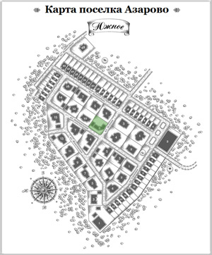 Дом 14 на схеме Азарово