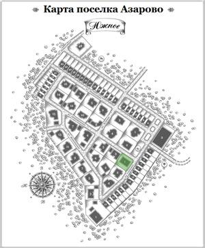 Дом 19 на схеме Азарово