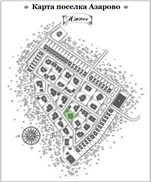 Дом 25 на схеме Азарово