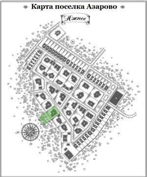 Дом 29 на схеме Азарово