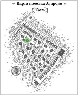 Дом 10 на схеме Азарово