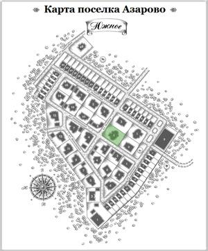 Дом 16 на схеме Азарово