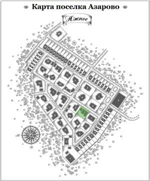 Дом 23 на схеме Азарово
