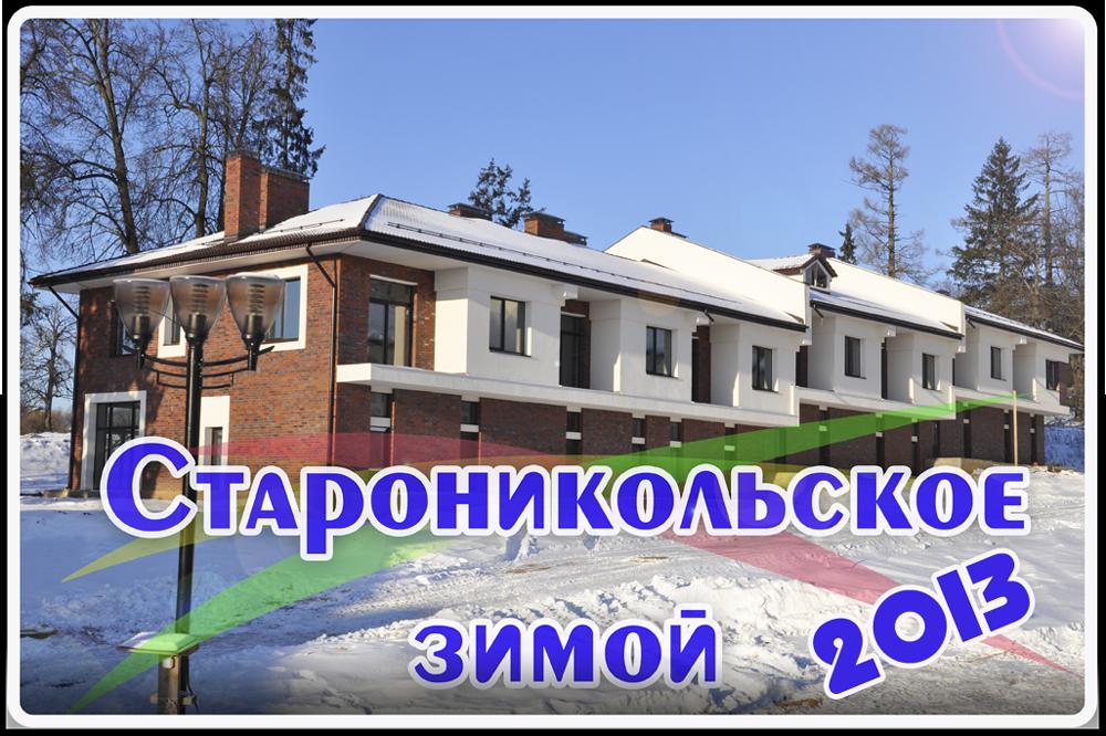 Староникольское, зима 2013 г.