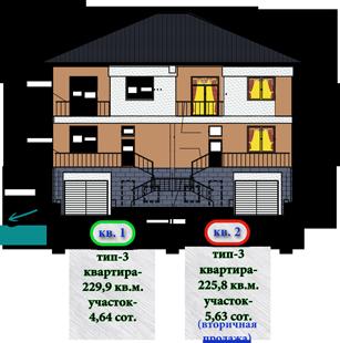 Староникольское, дом 1 планировки