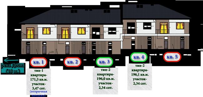 Схема корпуса 5 в Староникольском